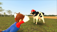 Mario Goes to the Fridge to Get a Glass Of Milk 230