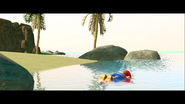 Mario Gets Stuck On An Island 034