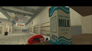 Mario Goes to the Fridge to Get a Glass Of Milk 033