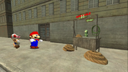 Mario Goes to the Fridge to Get a Glass Of Milk 083