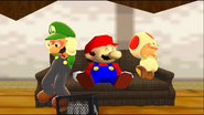 Mario Goes to the Fridge to Get a Glass Of Milk 312