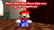 Mario Wants Spaghetti
