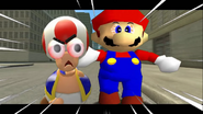 Mario Goes to the Fridge to Get a Glass Of Milk 081