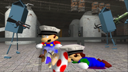 Mario Goes to the Fridge to Get a Glass Of Milk 145