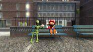 SMG4 Mario Raids Area 51 screencaps 36