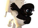 Crazy Toilet Dude