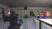 Mario's Prison Escape 130