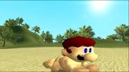 Mario Gets Stuck On An Island 209