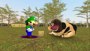 Mario Goes to the Fridge to Get a Glass Of Milk 235