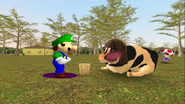 Mario Goes to the Fridge to Get a Glass Of Milk 236
