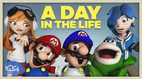 SMG4: A Day In The Life Of Everyone