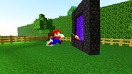 SMG4 If Mario Was in... Minecraft screencaps 26