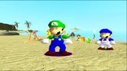 Mario Gets Stuck On An Island 196