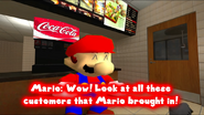 SMG4 Mario Works at Mcdonalds 7-59 screenshot
