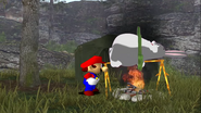 Mario's Big Chungus Hunt 110