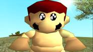 Mario Gets Stuck On An Island 250
