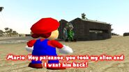 SMG4 Mario Raids Area 51 screencaps 3