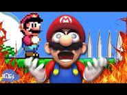 Mario Plays- Unfair Mario
