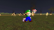 Mario Goes to the Fridge to Get a Glass Of Milk 288