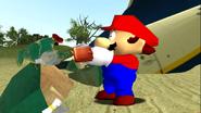Mario Gets Stuck On An Island 050