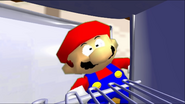 Mario Goes to the Fridge to Get a Glass Of Milk 009