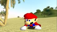 Mario Gets Stuck On An Island 019