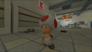 Mario Goes to the Fridge to Get a Glass Of Milk 056
