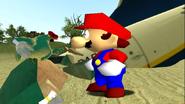 Mario Gets Stuck On An Island 048