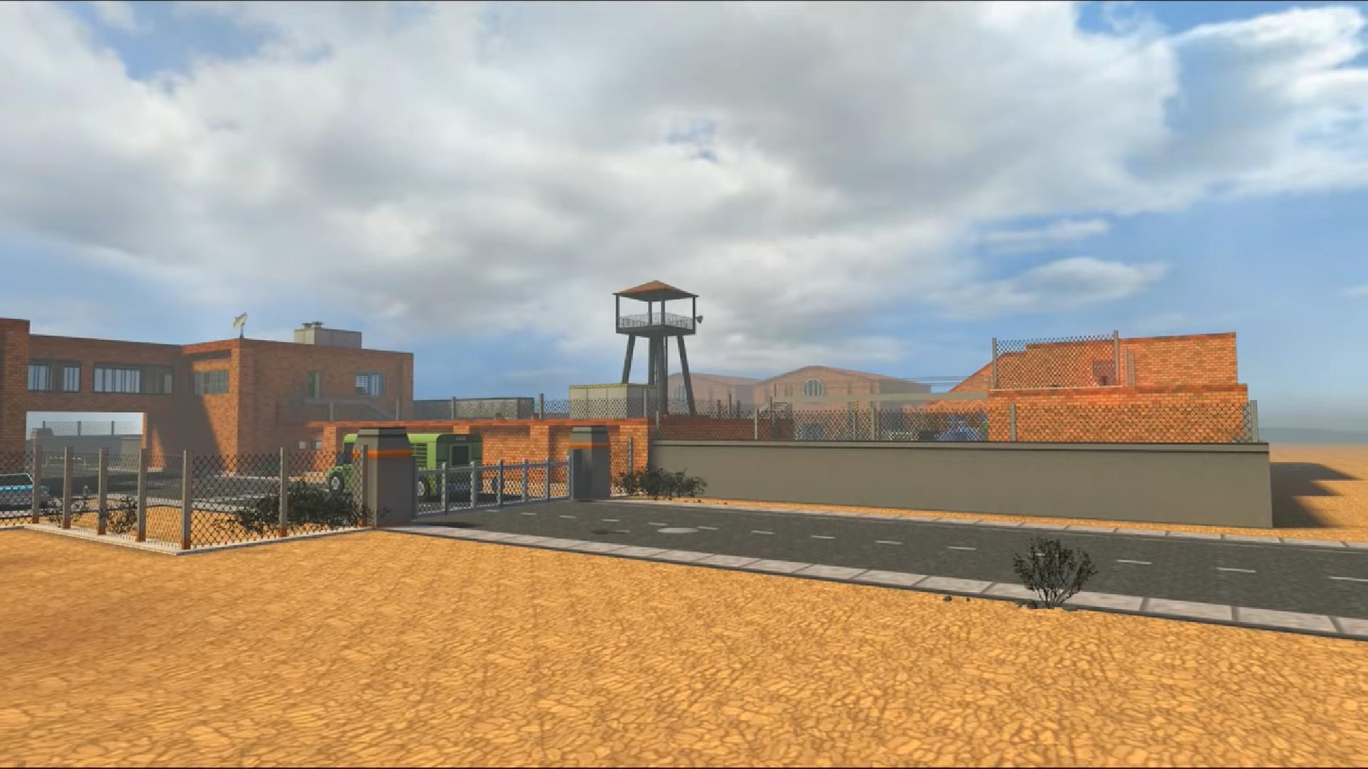 Desert Prison