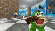 Mario And The T-Pose Virus 026