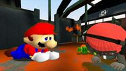 Mario says goodbye to Meggy