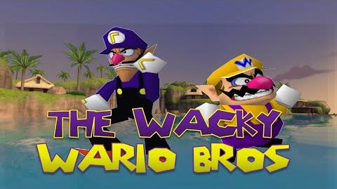 The Wacky Wario Bros.: Waluigi Origins