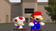Mario Goes to the Fridge to Get a Glass Of Milk 072