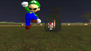 Mario Goes to the Fridge to Get a Glass Of Milk 284