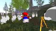 Mario's Big Chungus Hunt 128