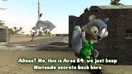 SMG4 Mario Raids Area 51 screencaps 38