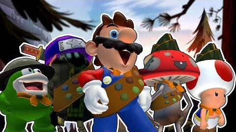 SMG4: Mario The Boy Scout