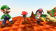 Mario And The T-Pose Virus 120