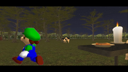 Mario Goes to the Fridge to Get a Glass Of Milk 253