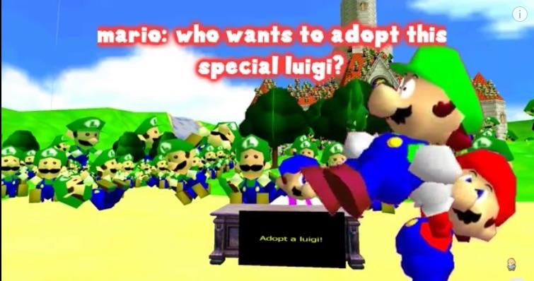Luigi Doll Shop