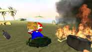 Mario Gets Stuck On An Island 027