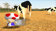 Mario Goes to the Fridge to Get a Glass Of Milk 234