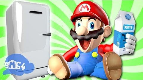 SMG4: Mario Goes to the Fridge to Get a Glass Of Milk