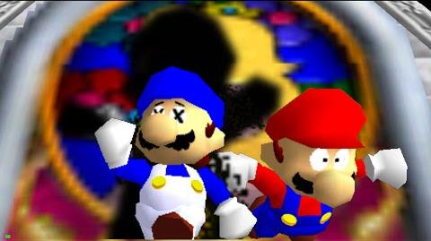 Super Mario 64 Bloopers: The Visitor. (2014)