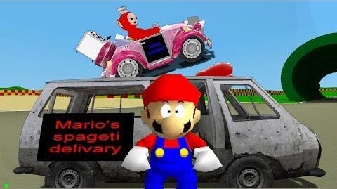 R64: Mario's Spageti Delivary