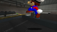 Mario Goes to the Fridge to Get a Glass Of Milk 176