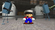 Mario Goes to the Fridge to Get a Glass Of Milk 144