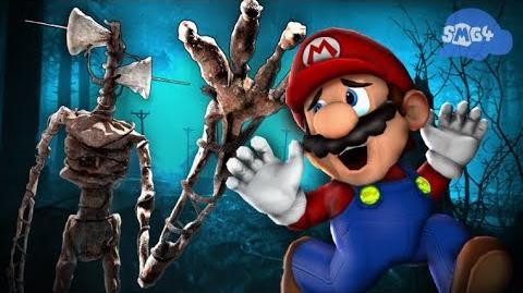 SMG4: Mario VS Siren Head