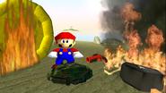 Mario Gets Stuck On An Island 032