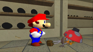 Mario Goes to the Fridge to Get a Glass Of Milk 029